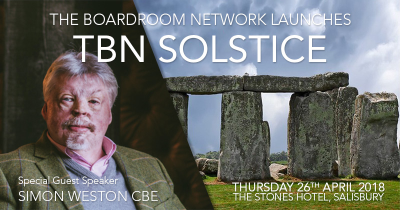TBN Solstice launch with guest speaker Simon Weston CBE