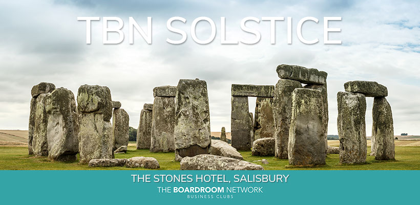 TBN Solstice at The Stones Hotel, Salisbury